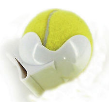 Tourna Pocket Pro Tennis Ball Waist Clip Holder-White Holds One Tennis Ball New