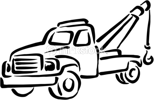 tow truck clip art | Tow Truck Vector Art 88344431 | Thinkstock | Random | Pinterest | Tow truck, Art and Trucks