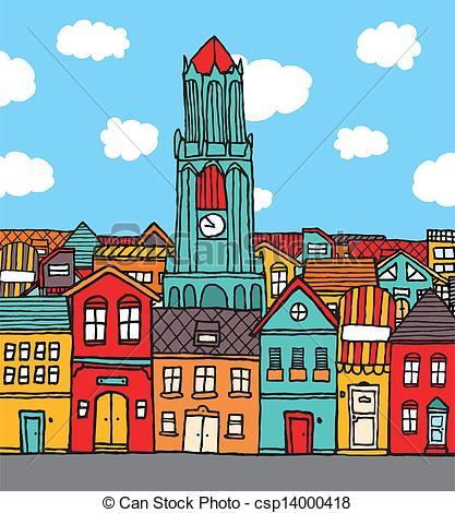 town clipart