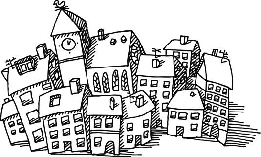 Town Clip Art