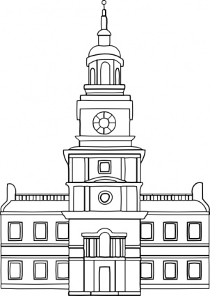 Town Council Buildings Clipart