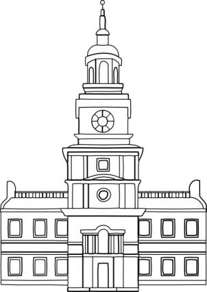 Town Council Buildings Clipart-Town Council Buildings Clipart-6
