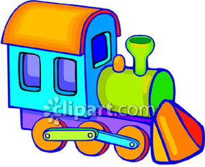 toy trains clipart - Toy Train Clipart