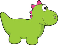 Toy Dinosaur Clipart Size: 57 - Dino Clip Art