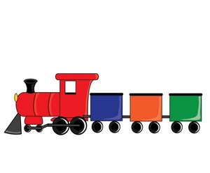 Toy Trains Clipart Clipart Pa - Toy Train Clipart