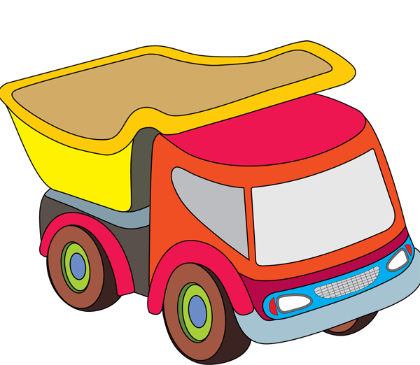 Toy Truck Clip Art Png