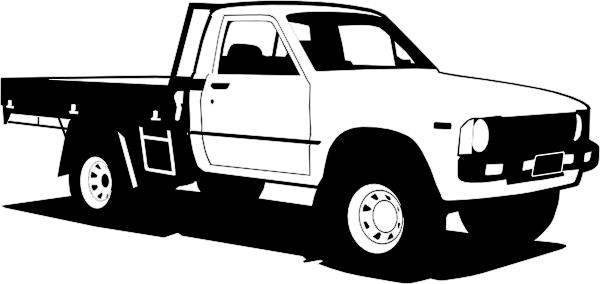 . ClipartLook.com Free Vector Toyota Hil-. ClipartLook.com free vector Toyota Hilux clip art-6