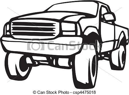 Toyota Pickup Truck Clipart-toyota pickup truck clipart-8