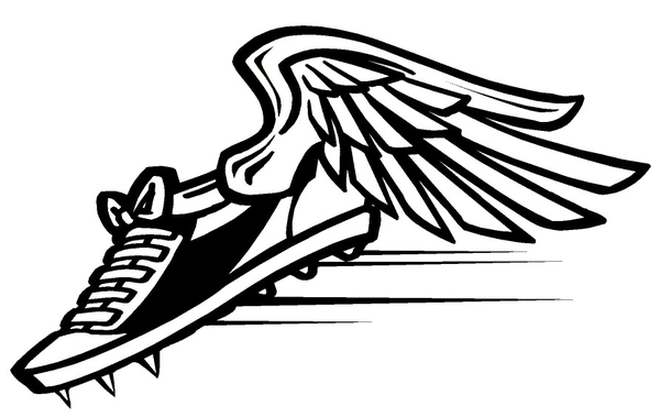 Track 1 image - vector clip a - Track And Field Clipart