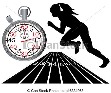 ... Track And Field - Athletics Track St-... track and field - athletics track stopwatch on a white... ...-6