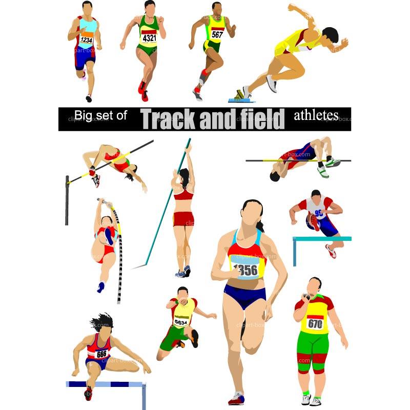 Track And Field Clip Art .-Track And Field Clip Art .-10
