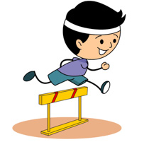 Track And Field High Jump Siz - Track And Field Clipart