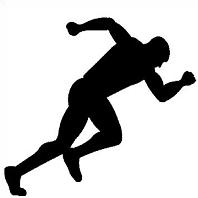 Track Runner Sillouette Clipart Panda Free Clipart Images