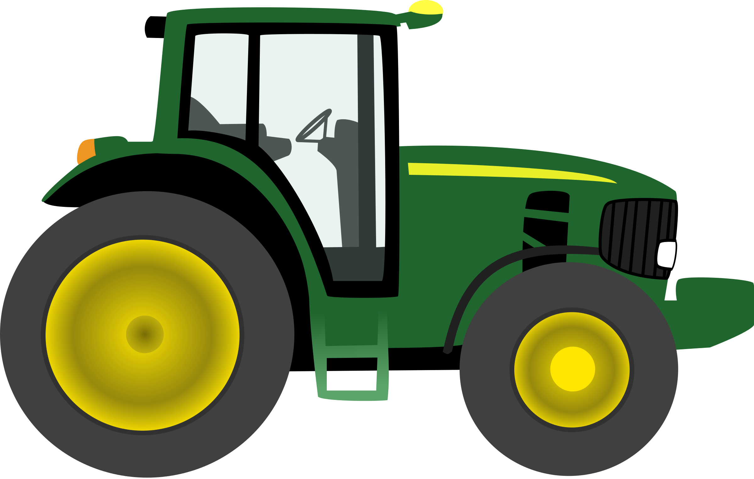 Clipart Tractor