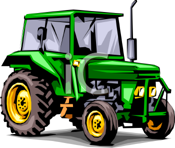 Tractor Clip Art-Tractor Clip Art-14