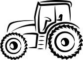 Tractor Clip Art-Tractor Clip Art-9