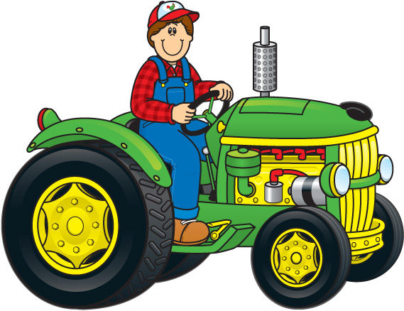 Tractor Clip Art. Tractor cliparts