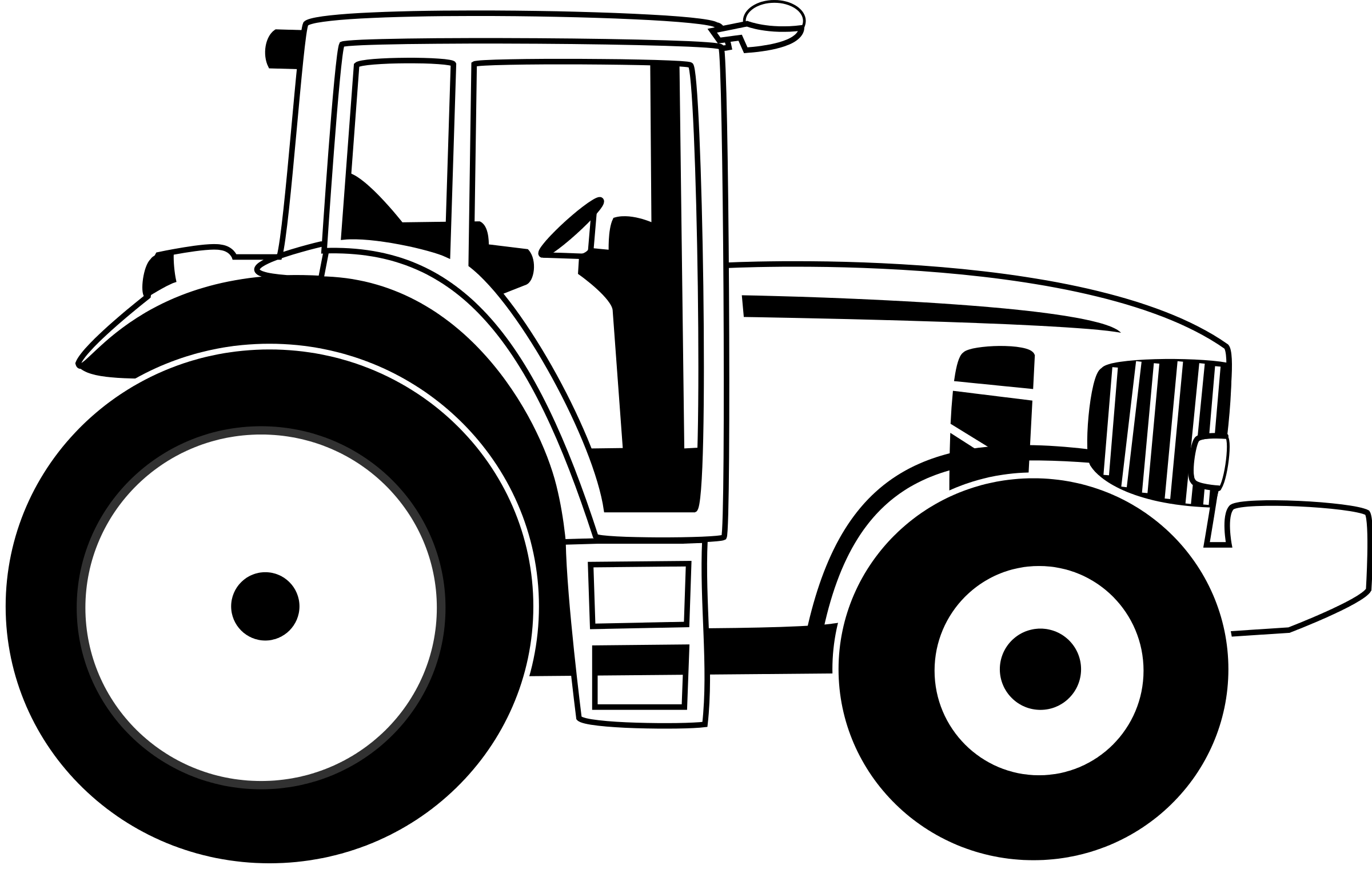 Tractor Vector Art Clipart Be