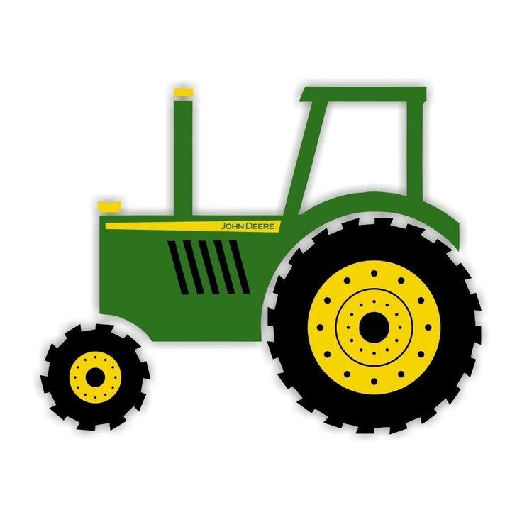 Tractor clipart 2 · John Deere .