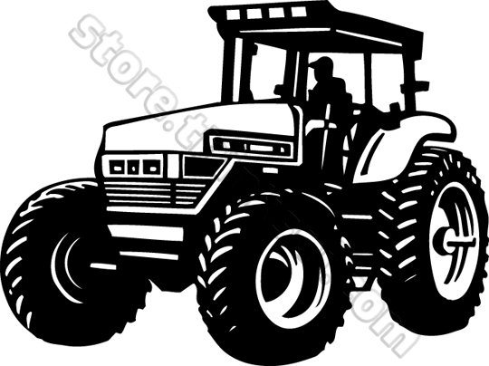 Tractor Clipart Tractor Clip A