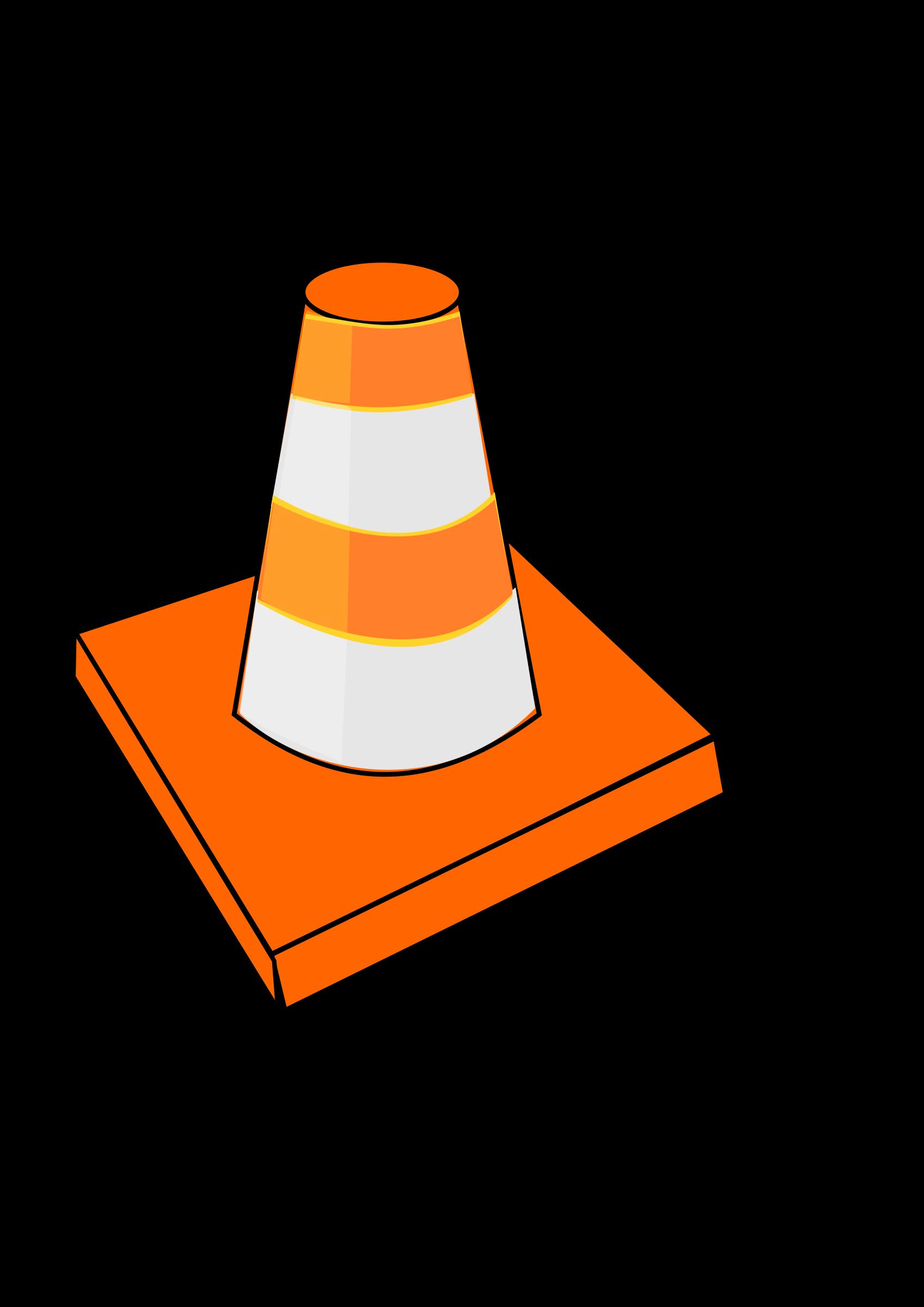 Traffic Cone By Dinamostafa