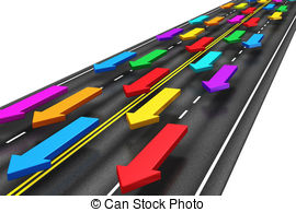 ... Traffic On The Road - Creative Abstr-... Traffic on the road - Creative abstract traffic,.-17