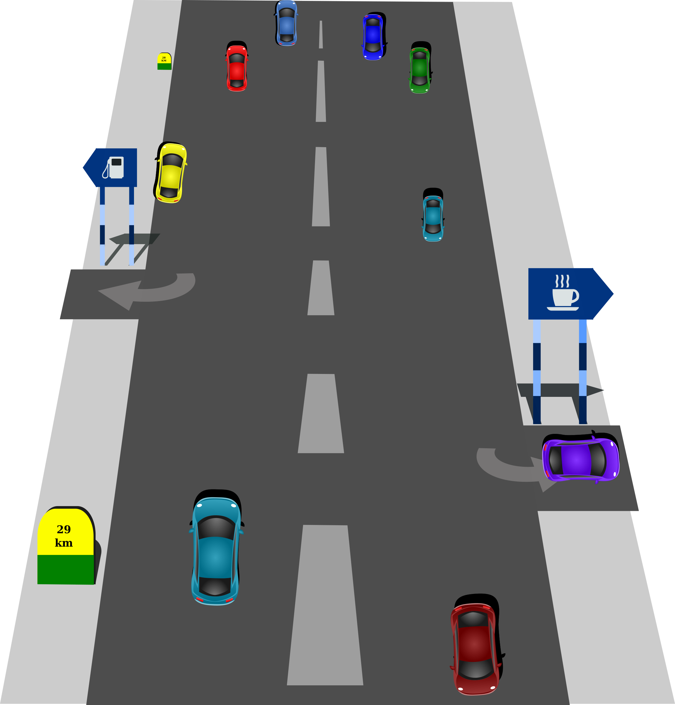 Traffic Roads Clipart-Traffic Roads Clipart-11