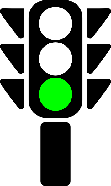 Traffic Semaphore Green Light Clip Art A-Traffic Semaphore Green Light Clip Art At Clker Com Vector Clip Art-0