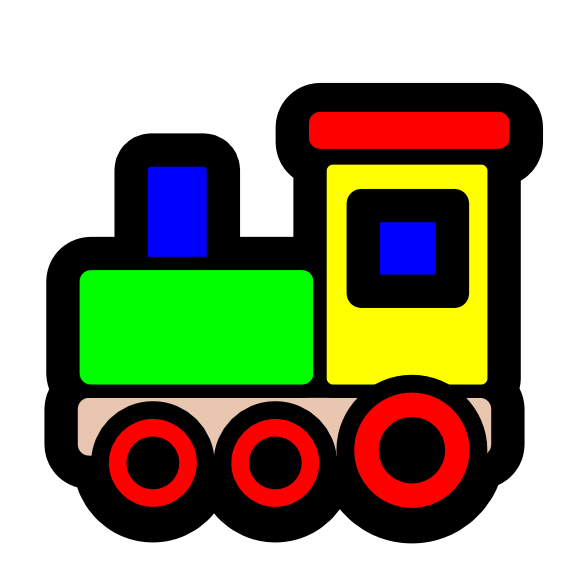 Train Clipart-train clipart-11