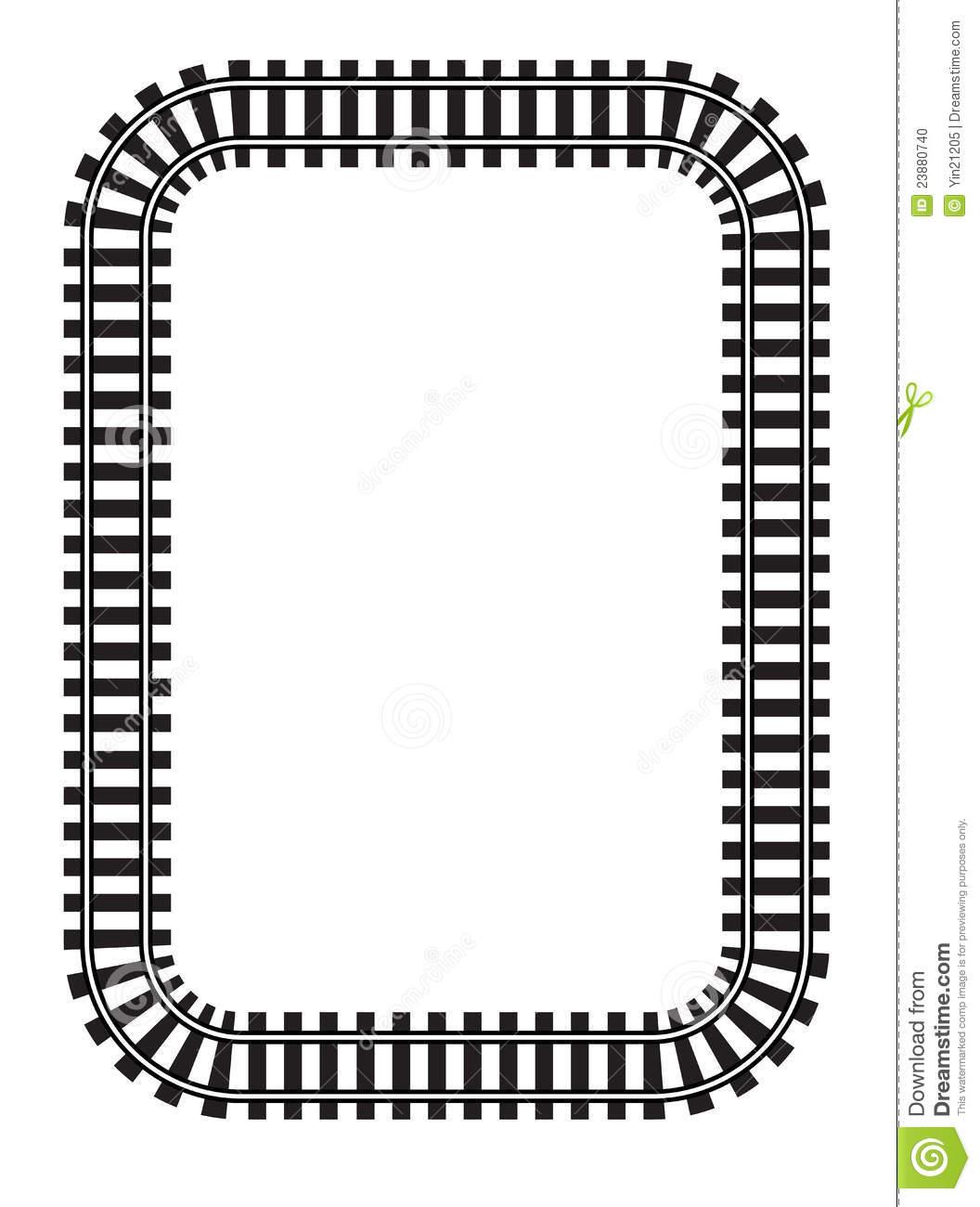 train track clipart-train track clipart-9