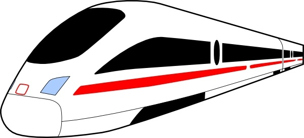 Train clip art Free vector 51.51KB