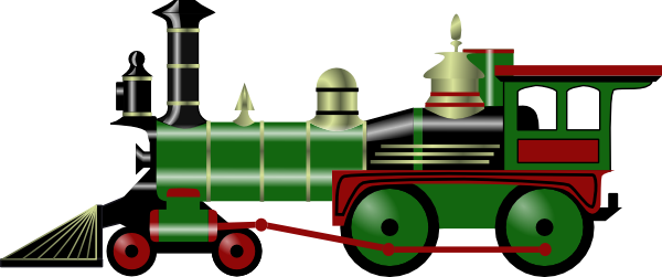 Train clip art Free Vector