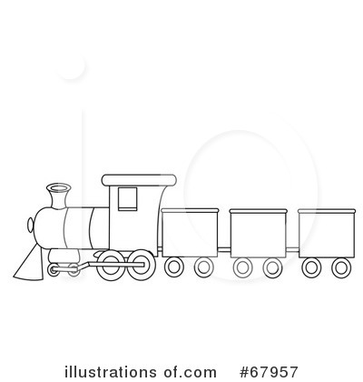 Train Clipart Black And White Royalty Free Rf Train