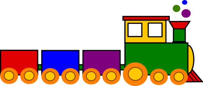 Train clipart free clipart images