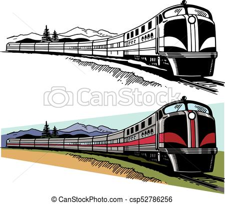 Passenger Train Clipart And Stock Illust-Passenger train Clipart and Stock Illustrations. 7,992 Passenger train  vector EPS illustrations and drawings available to search from thousands of  royalty ClipartLook.com -5
