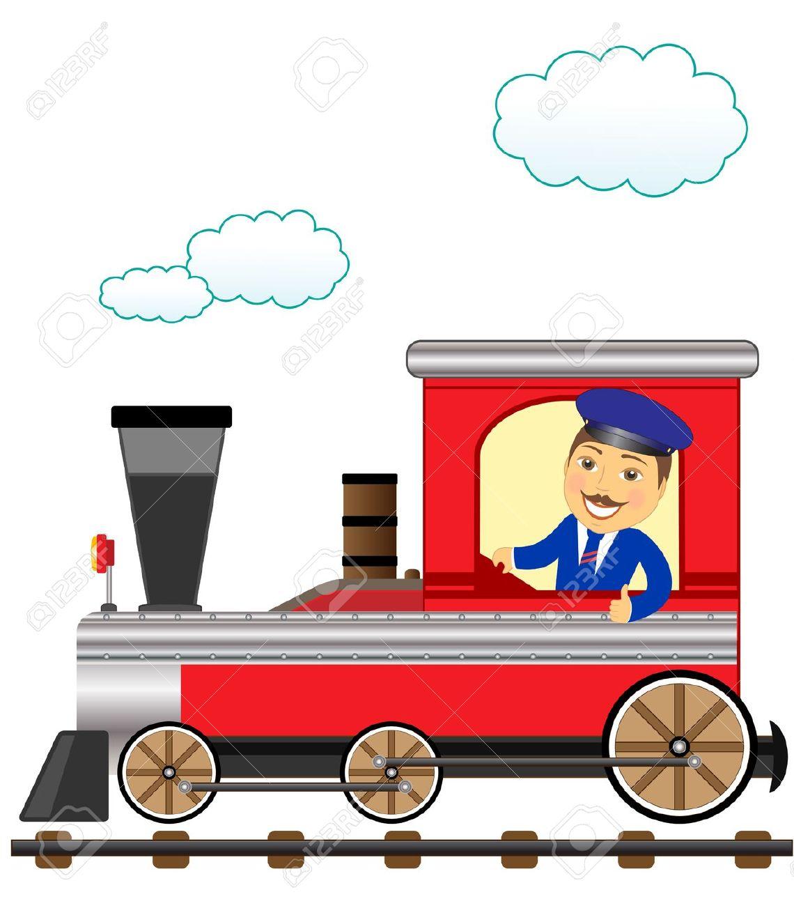 train conductor: cheerful .-train conductor: cheerful .-5