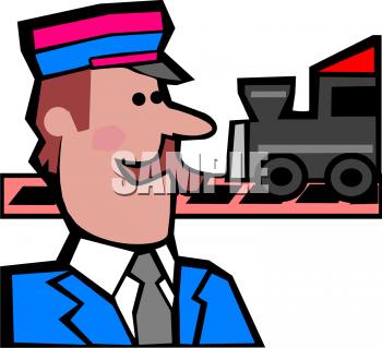 Train Conductor Clipart .-Train Conductor Clipart .-12