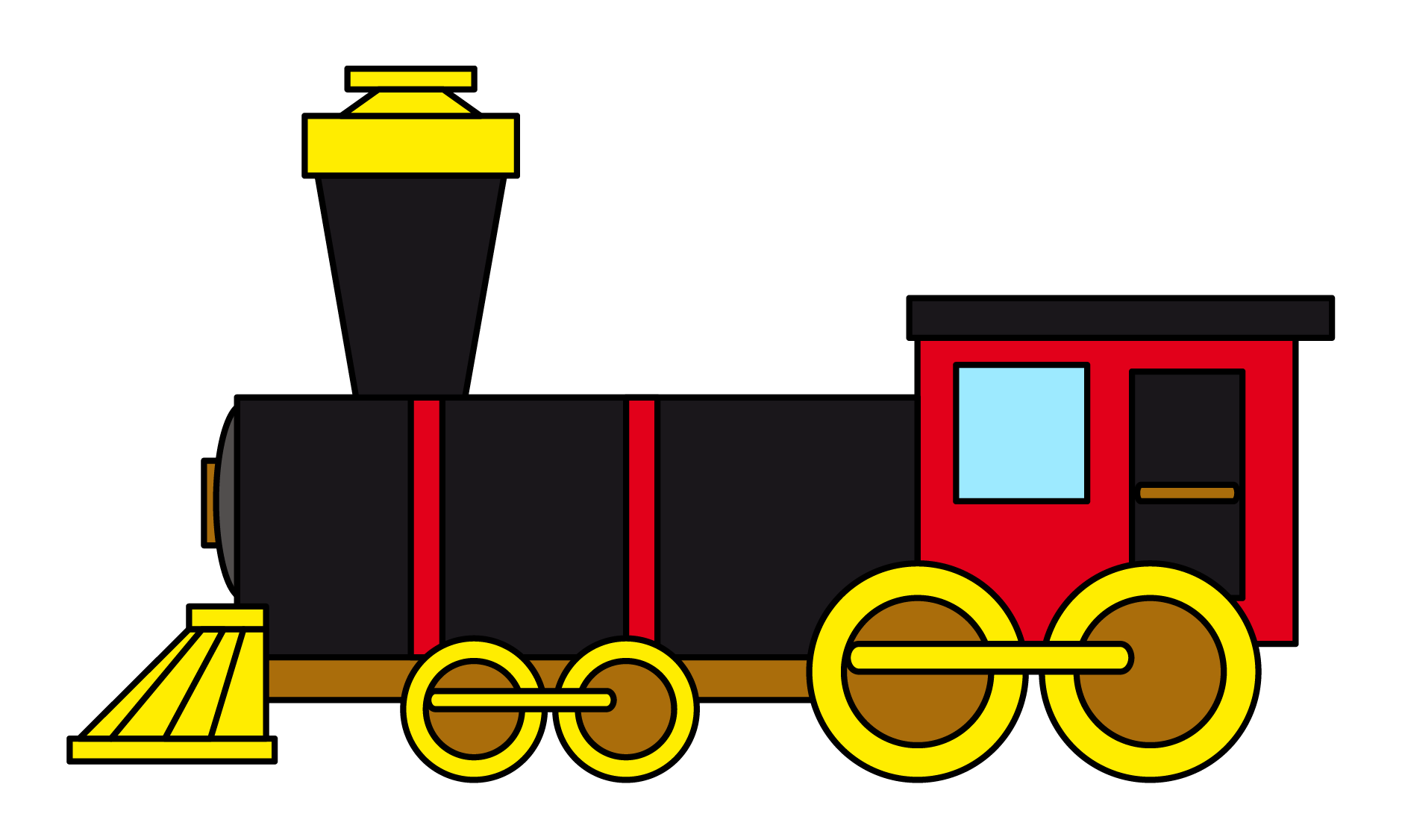 Train free to use clip art 2 - Toy Train Clipart