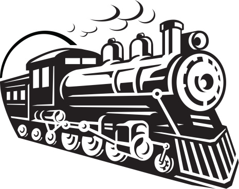 Train Icon vector art .