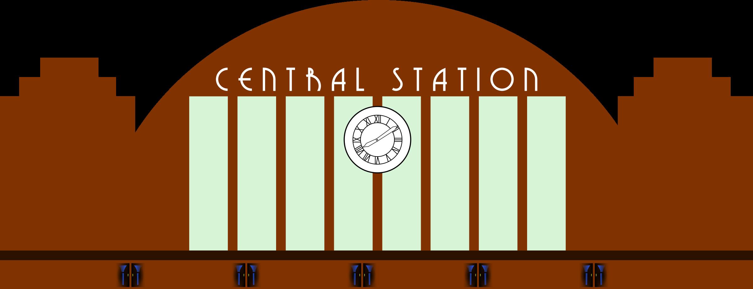 Train Station Clip Art-Train Station Clip Art-15