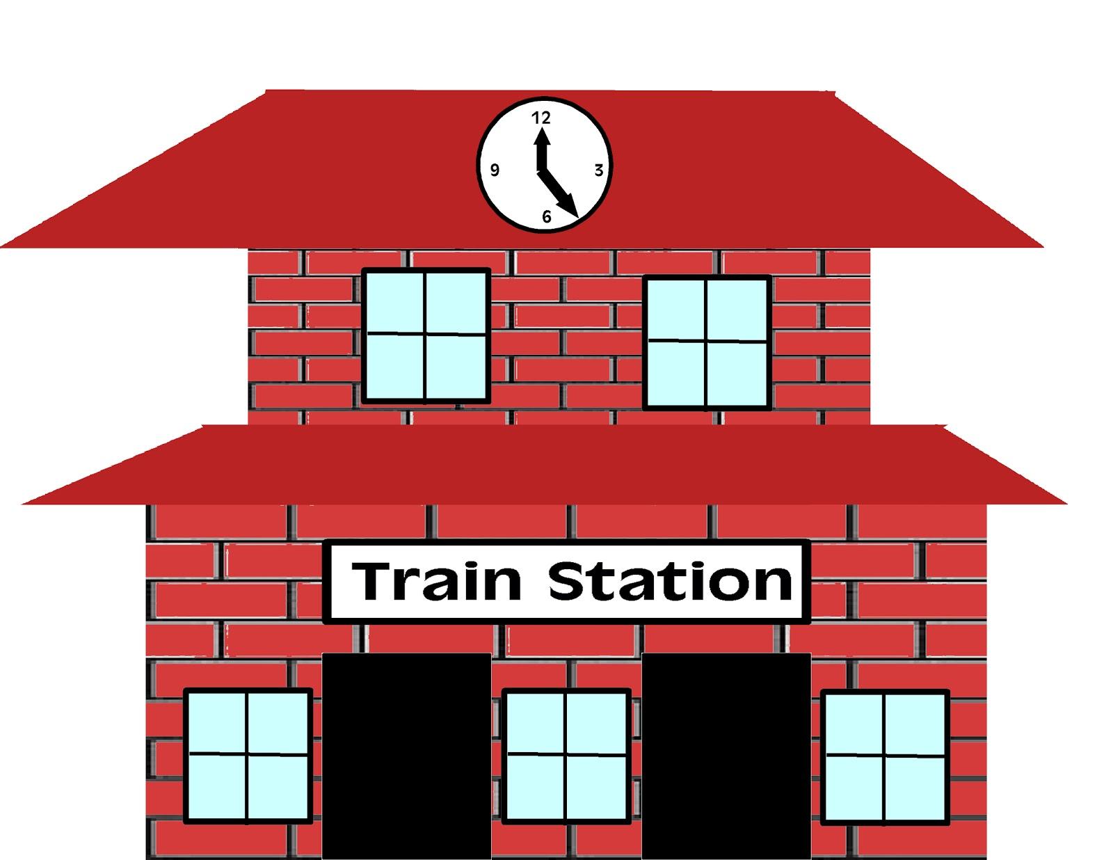 Train Station Clipart Train Station Clip-Train Station Clipart Train Station Clip Art Free-0