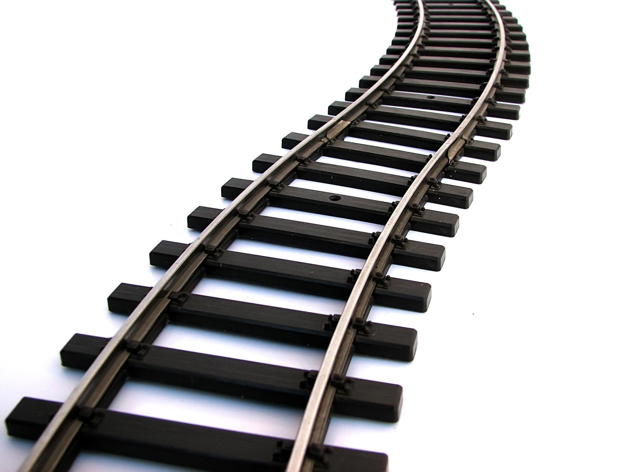Train Track Clipart. Railroad .-Train Track Clipart. Railroad .-11