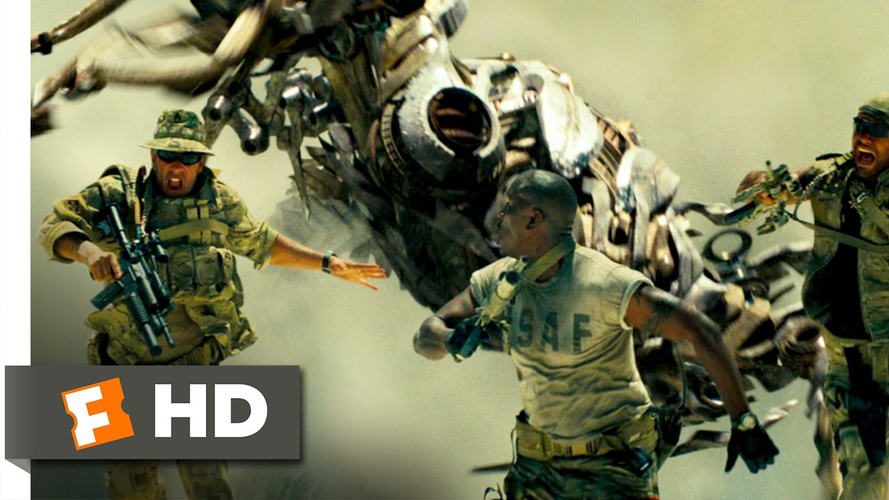 Transformers (2/10) Movie CLIP - Desert -Transformers (2/10) Movie CLIP - Desert Surprise (2007) HD-1