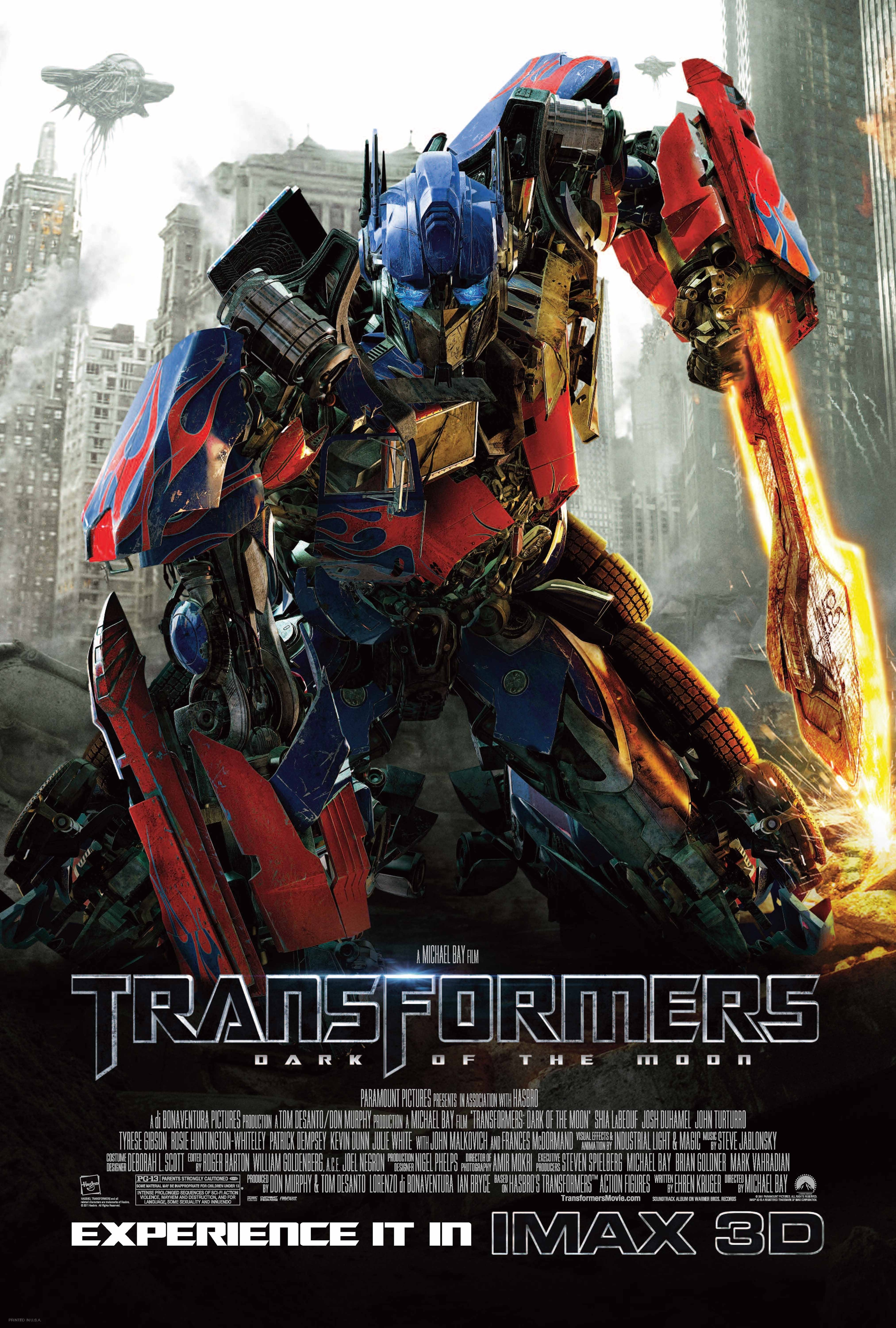 Transformers 3 Transformers Dark of the -Transformers 3 Transformers Dark of the Moon IMAX Poster One-Sheet-6