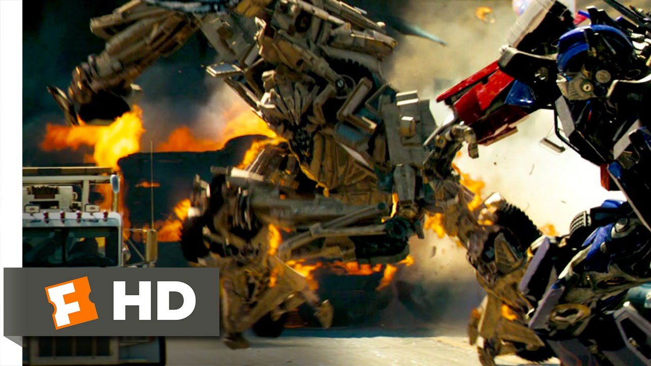 Transformers (7/10) Movie CLIP - Optimus-Transformers (7/10) Movie CLIP - Optimus Prime Battles Bonecrusher (2007) HD - YouTube-3