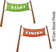 ... Transparency Of Start And Finish - V-... Transparency of Start and Finish - Vector illustration of.-15