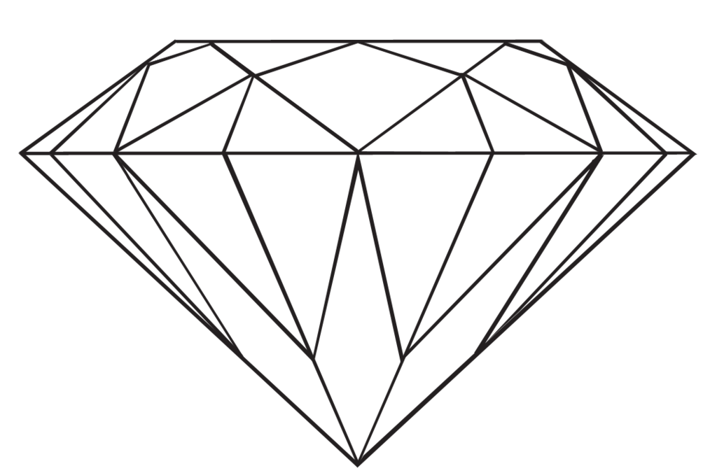 Transparent Diamond by danakatherinescully on Clipart library