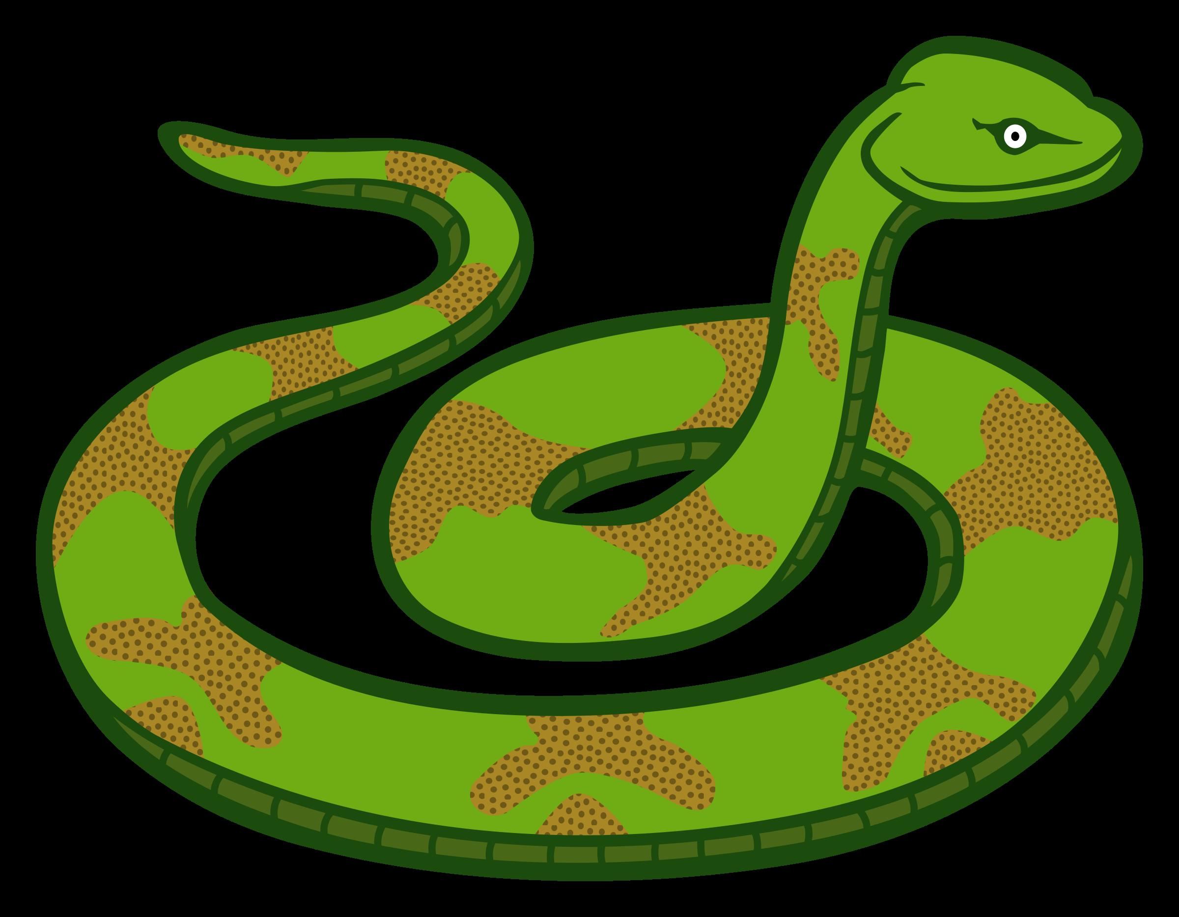 Transparent snake clipart 2 - Snake Clip Art