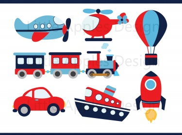 Transportation Clipart / Transportation Clip Art