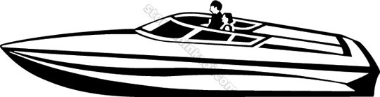 Transportation Power Boat 008 Speedboat -Transportation Power Boat 008 Speedboat Illustration-17